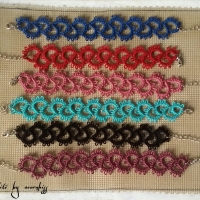 keep it simple tatting bracelets